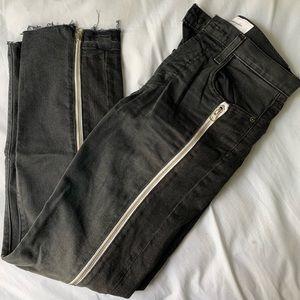 Current Elliot Zipper Jeans